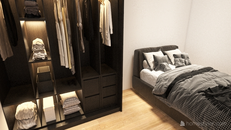 planta baixa - final Interior Design Render