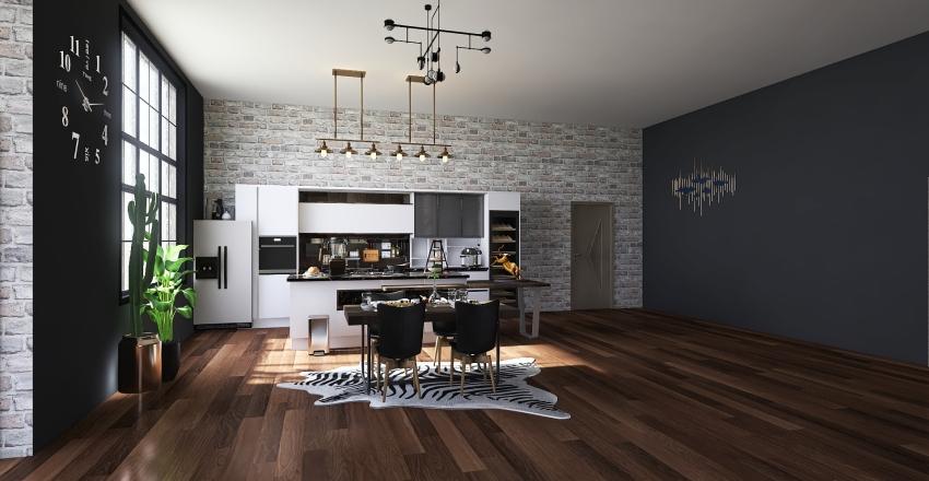 departamento2 Interior Design Render