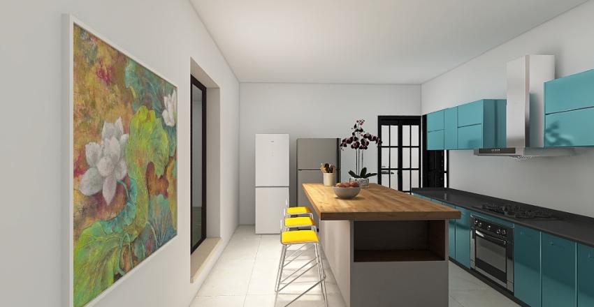 Casa Guimaraes Perin Interior Design Render