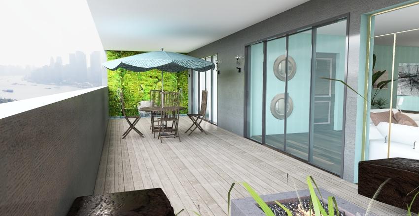 apt Interior Design Render
