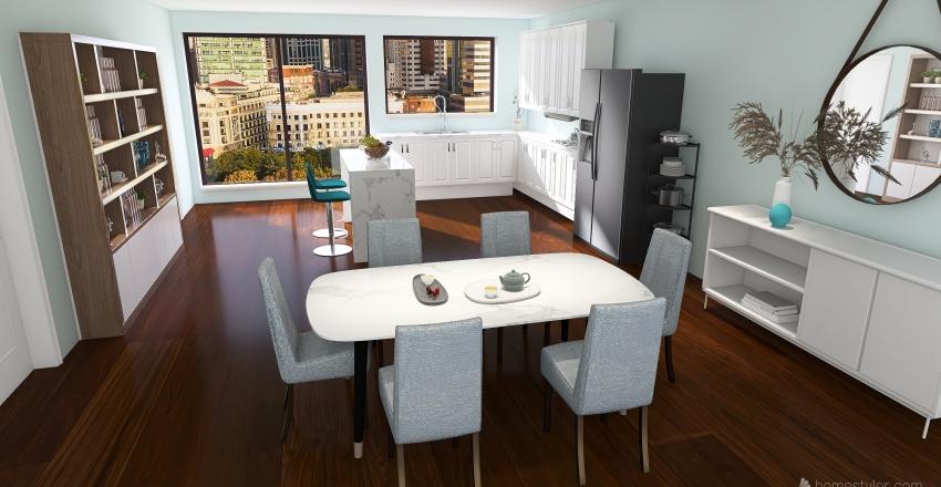 Condo Design Interior Design Render