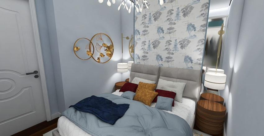DISKILL project No 02 Interior Design Render