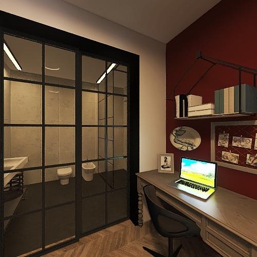 учебный 2 Interior Design Render