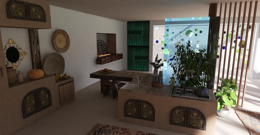 earthship1 Interior Design Render