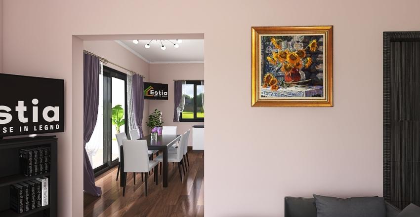 Villa Clauser Interior Design Render