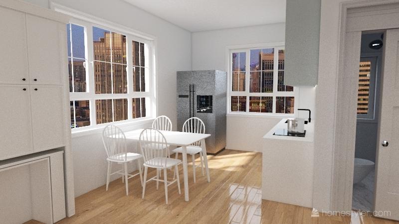 Casa 4 Interior Design Render