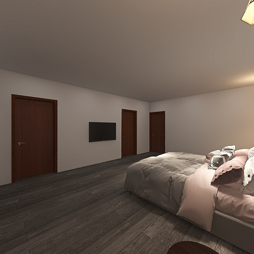 ranch Interior Design Render