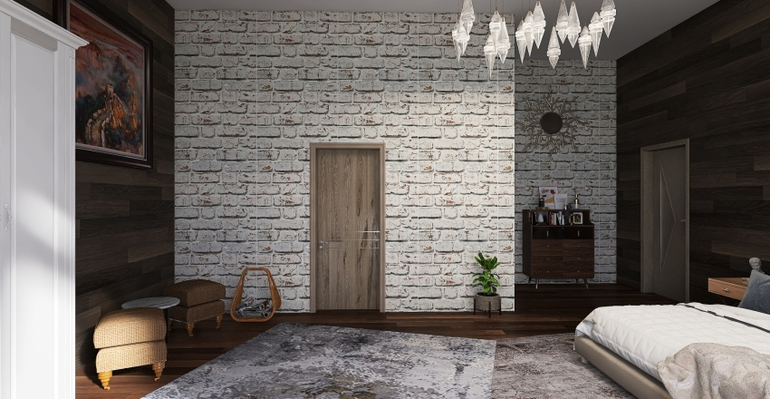 departamento2 Interior Design Render