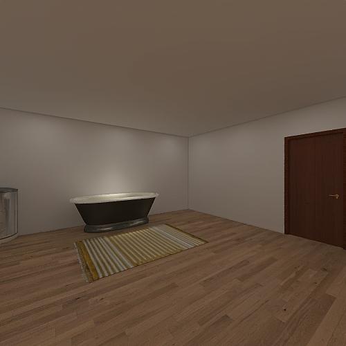 Ranch Style House Interior Design Render