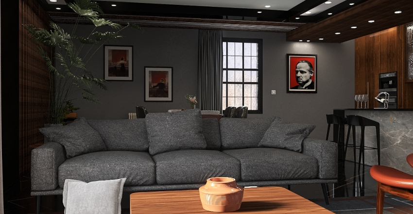 Godfather Project Interior Design Render