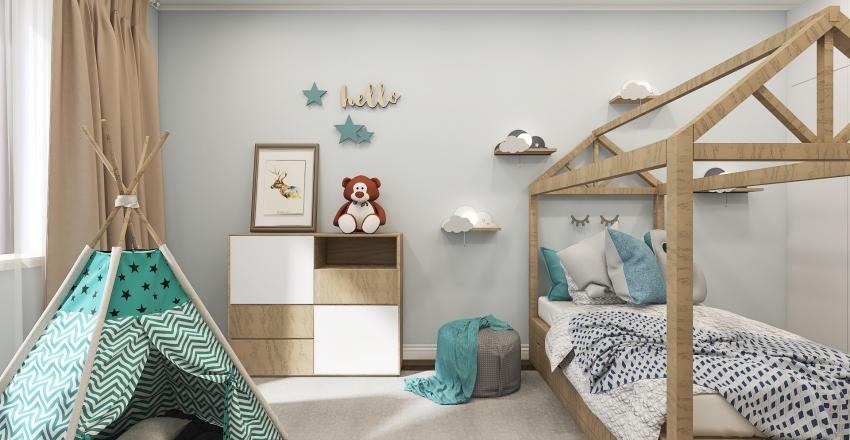 Child room Interior Design Render