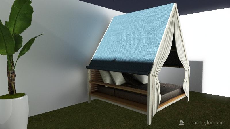The Luxury Vacation Interior Design Render