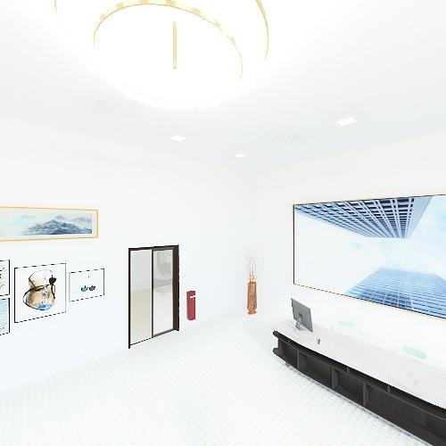 Data Center (Nadia) Interior Design Render