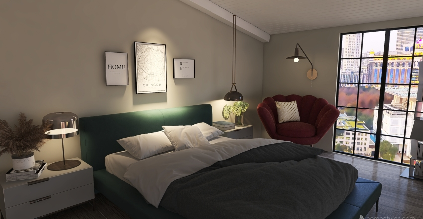 Loft - V.2 Interior Design Render