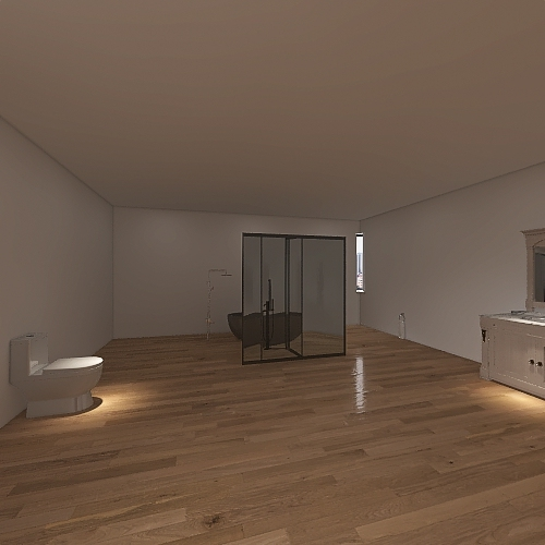 Ranch House Interior Design Render