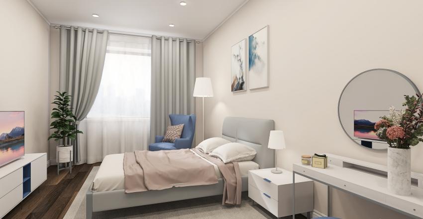 Grandma room Interior Design Render