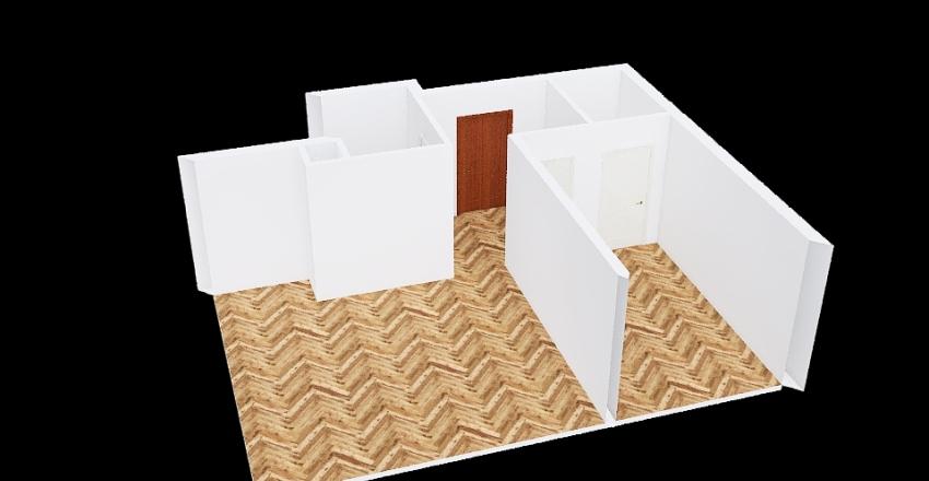 AR4 - Czarne Lamele Interior Design Render