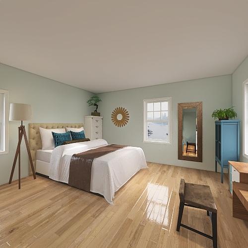 Charlottes Room Interior Design Render