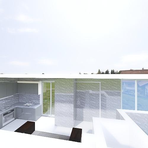 Terraza Juan de Rada VyC Interior Design Render