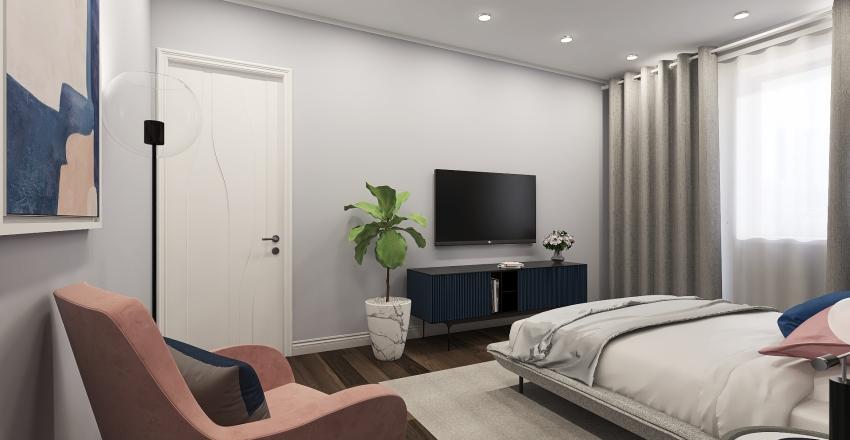 Parent's room Interior Design Render