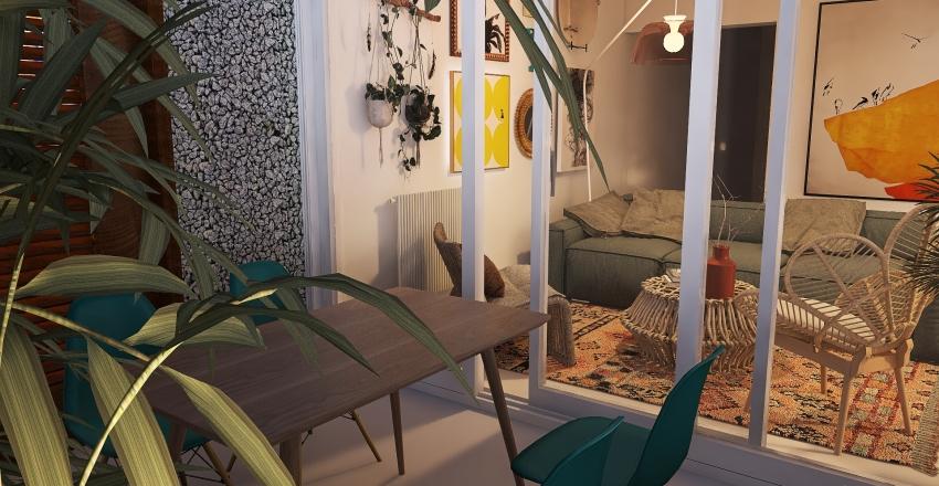 Copy of atocha terraza Interior Design Render