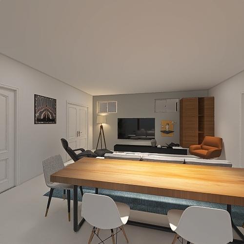 The Bron (Option 1) Interior Design Render