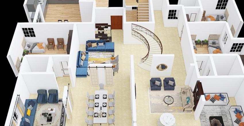 D.khalid f.f Interior Design Render