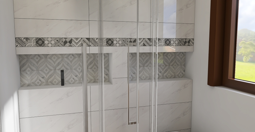 v2_Dolní koupelna Interior Design Render