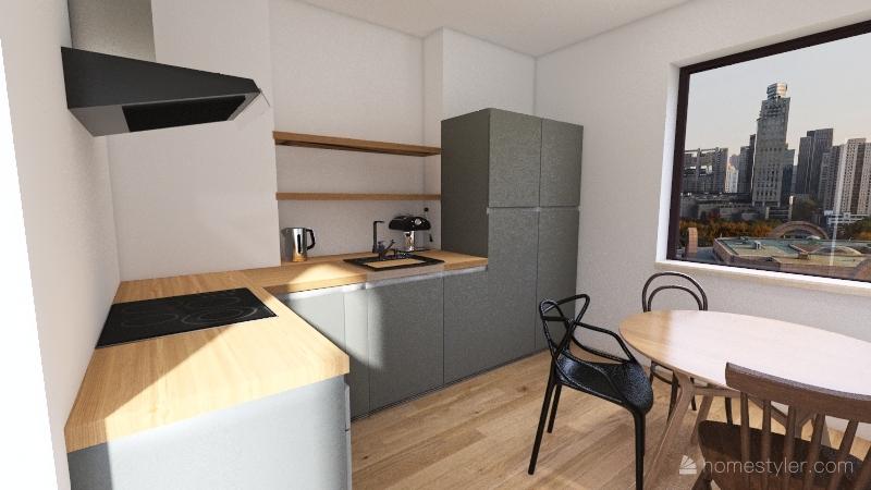 Kuchnia Kasi-jodelka Interior Design Render