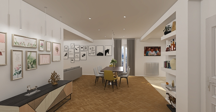 Casa PV Interior Design Render