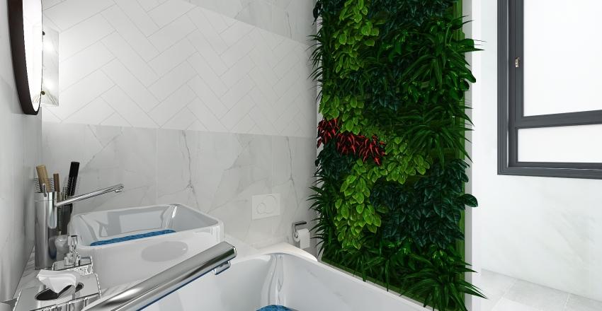 Modern High-Rise Suite Interior Design Render