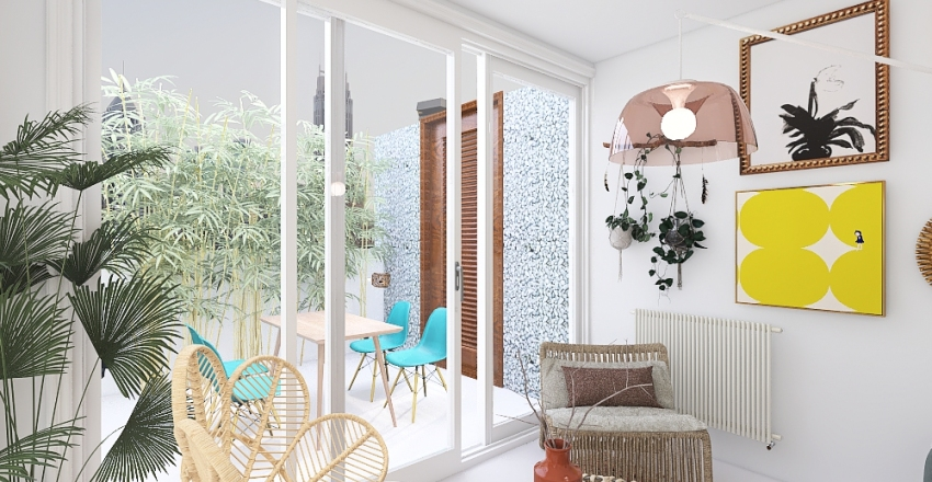 atocha terraza Interior Design Render