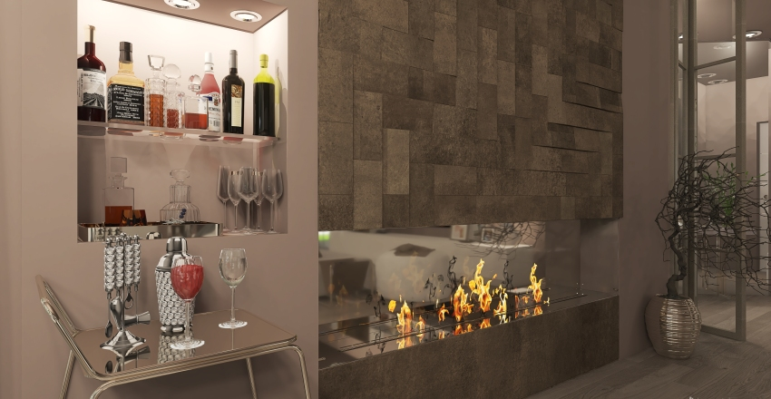 Villa Alina Interior Design Render