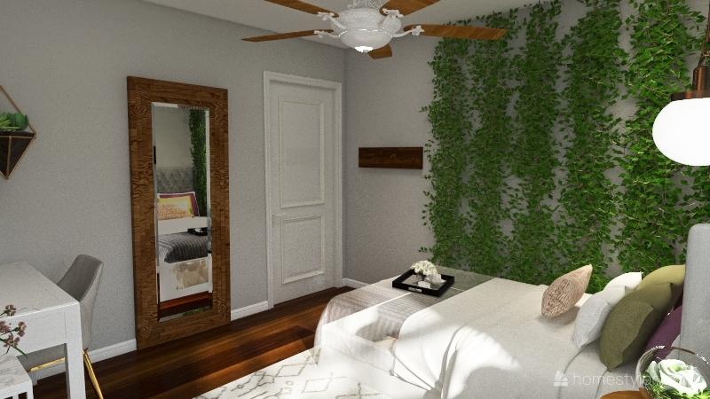 Bedroom Re-design Interior Design Render