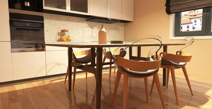 open_kitchen Interior Design Render