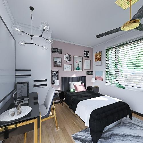 Bedroom Remodel Interior Design Render