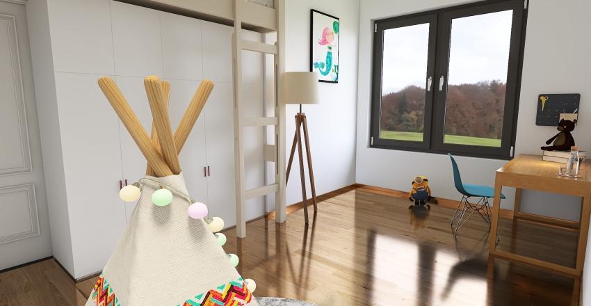Mias Room Interior Design Render