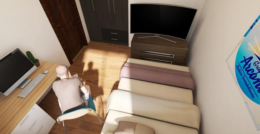 _planos casa 1planta ds Interior Design Render