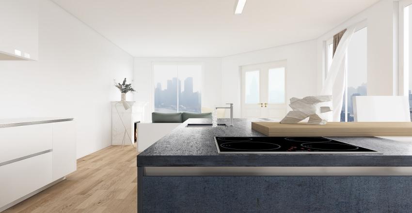 Count On The Kitchen Interior Design Render