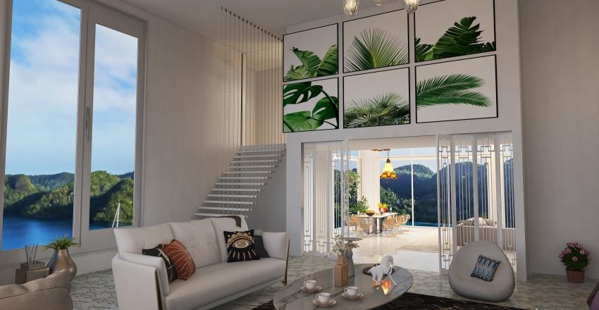 Ocean View Interior Design Render