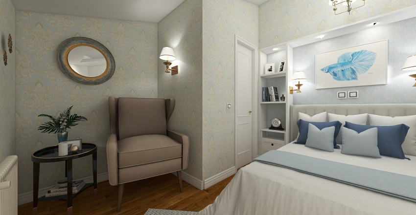 Angelovo Interior Design Render
