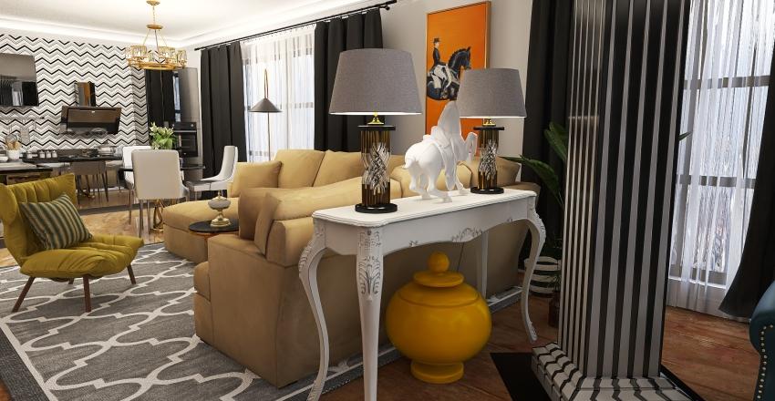 квартира -1 Interior Design Render