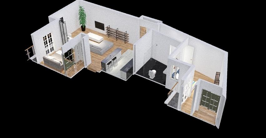PisoCaceres.202101 Interior Design Render