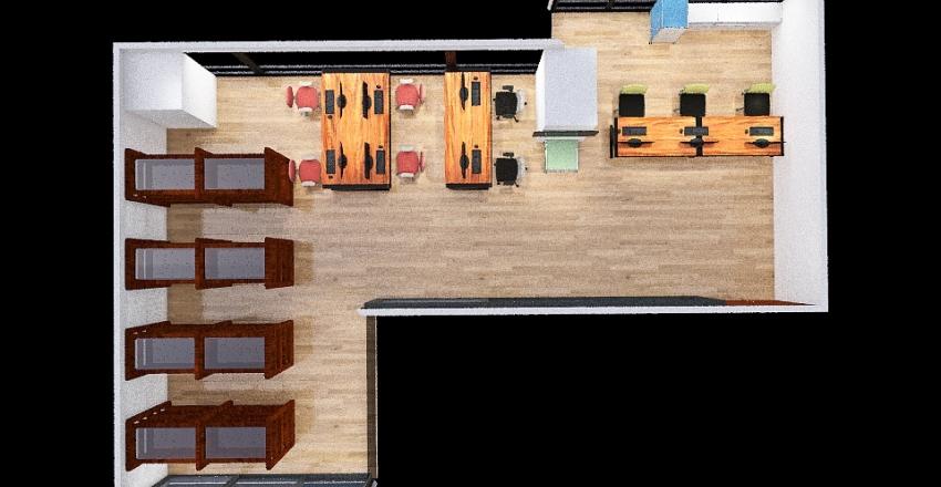 perpus proyek Interior Design Render