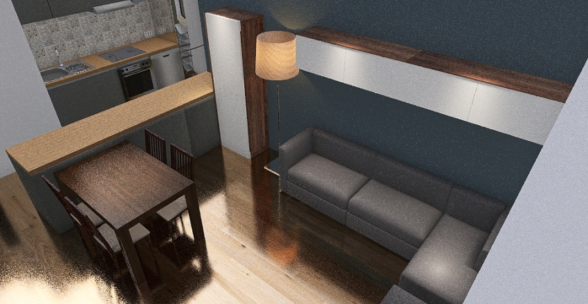 Klaudia Remont wałbrzyska Interior Design Render