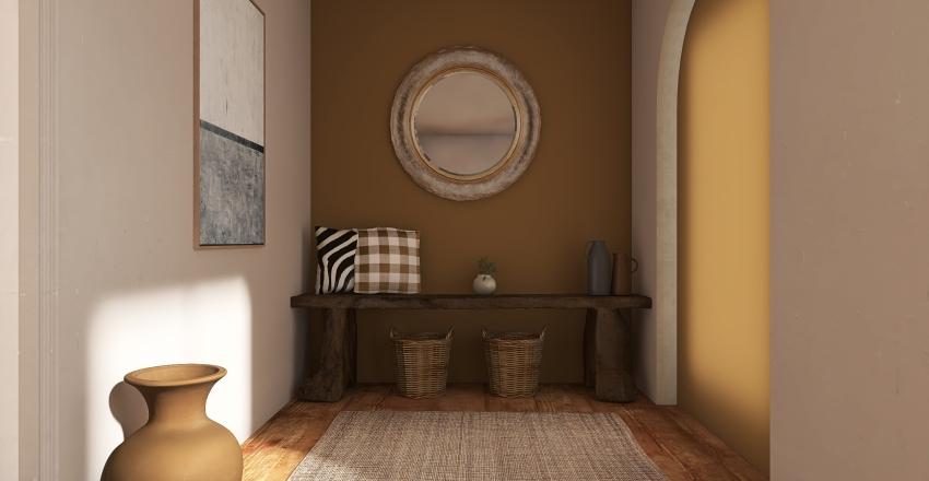 Casa do campo  Interior Design Render