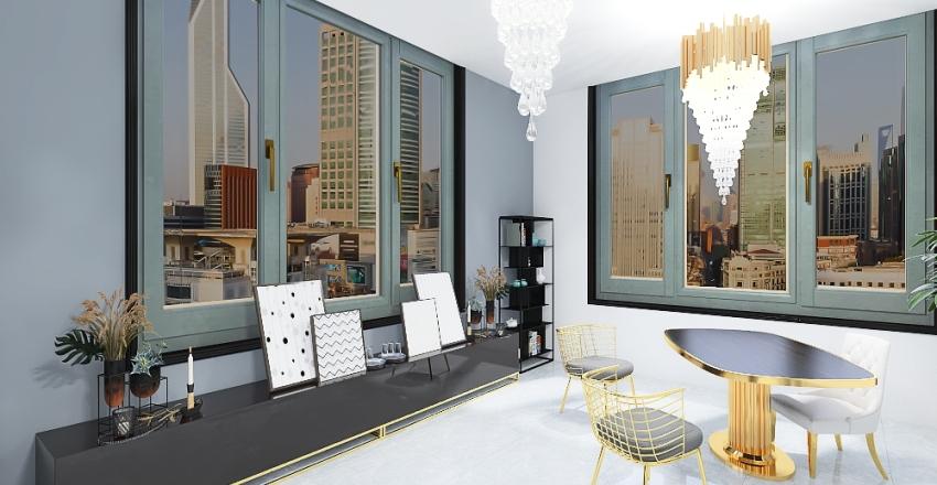 Nowoczesny przepych  Interior Design Render