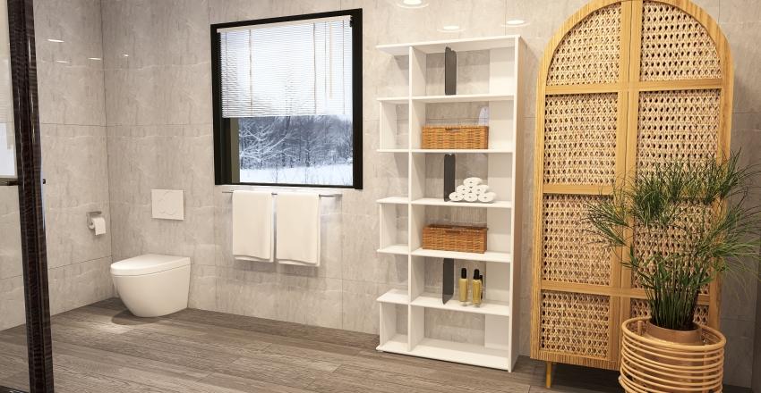 Recharge interior area Interior Design Render