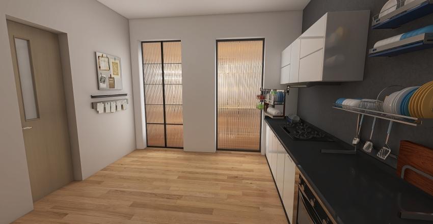 INDUSTRIAL PUB Interior Design Render
