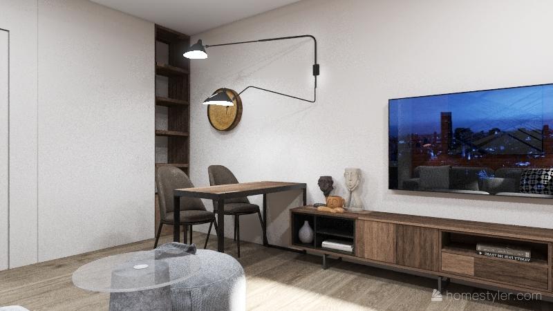 ЖК Республика 2 Interior Design Render